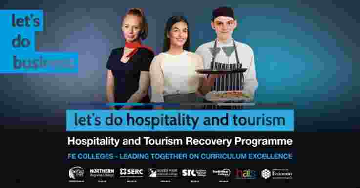 A series of Management webinars and Technical masterclasses will be  delivered across all six FE Colleges to support the tourism and hospitality sector.